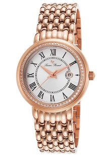 Lucien Piccard Lucien Piccard Women's Fantasia Rose-Tone Stainless Steel