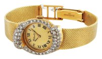 Lucien Piccard Vintage Antique Ladies Gold Diamond Mechanical Watch