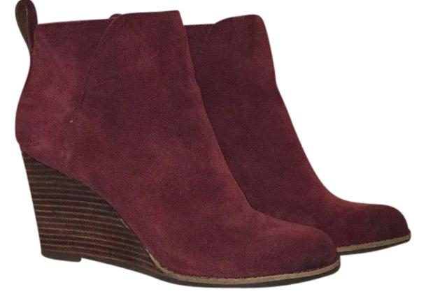 Lucky Brand Beet Oiled Suede Boots ...