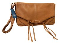 Lucky Brand Lucky Chestnut Leather Brown Clutch