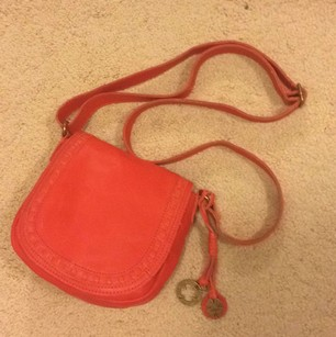 Lucky Brand Leather Flap Modesto Unique Cross Body Bag