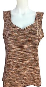 lucy Womens Striped Top Multi-Color