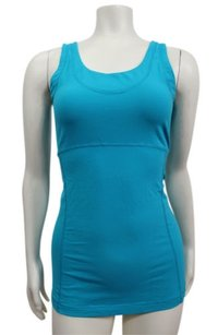 lucy Lucy Power Flow Tank Top Supplex Nylon Womens Light Teal