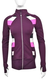 Lululemon Athletica Womens Active Jacket Color Block Full Zip Sweater