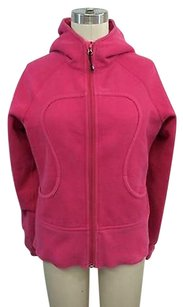 Lululemon Lululemon Athletica Hot Pink Zip Front Scuba Hoodie