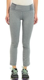 Lululemon Lululemon Heather Blurred Gray Stance Mudra Pants Ruched Waist Cropped