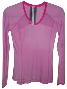 Lululemon Lululemon Pink Long Sleeve Pace Pusher