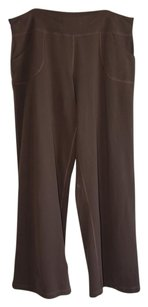 Lululemon wide leg still pants brown