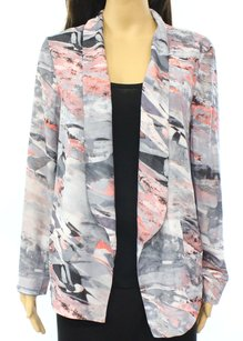 Lush 100% Polyester Basic Jacket Coat