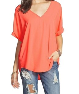 Lush 100-polyester Batwing Top