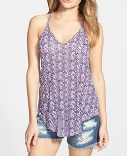 Lush Cami New With Tags Rayon Top Blue
