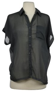 Lush Womens Top Charcoal