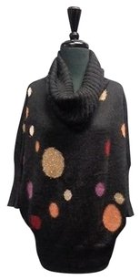 M Missoni Polka Dot Long Sleeved Cowl Neck Sma9665 Sweater