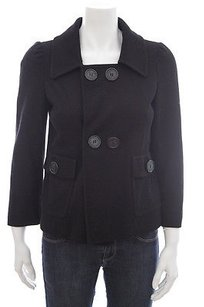 M Missoni Cropped Double Breasted Pea Short Jacket M426 Pea Coat