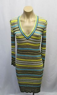 M Missoni Degrade Ripple Knit Dress