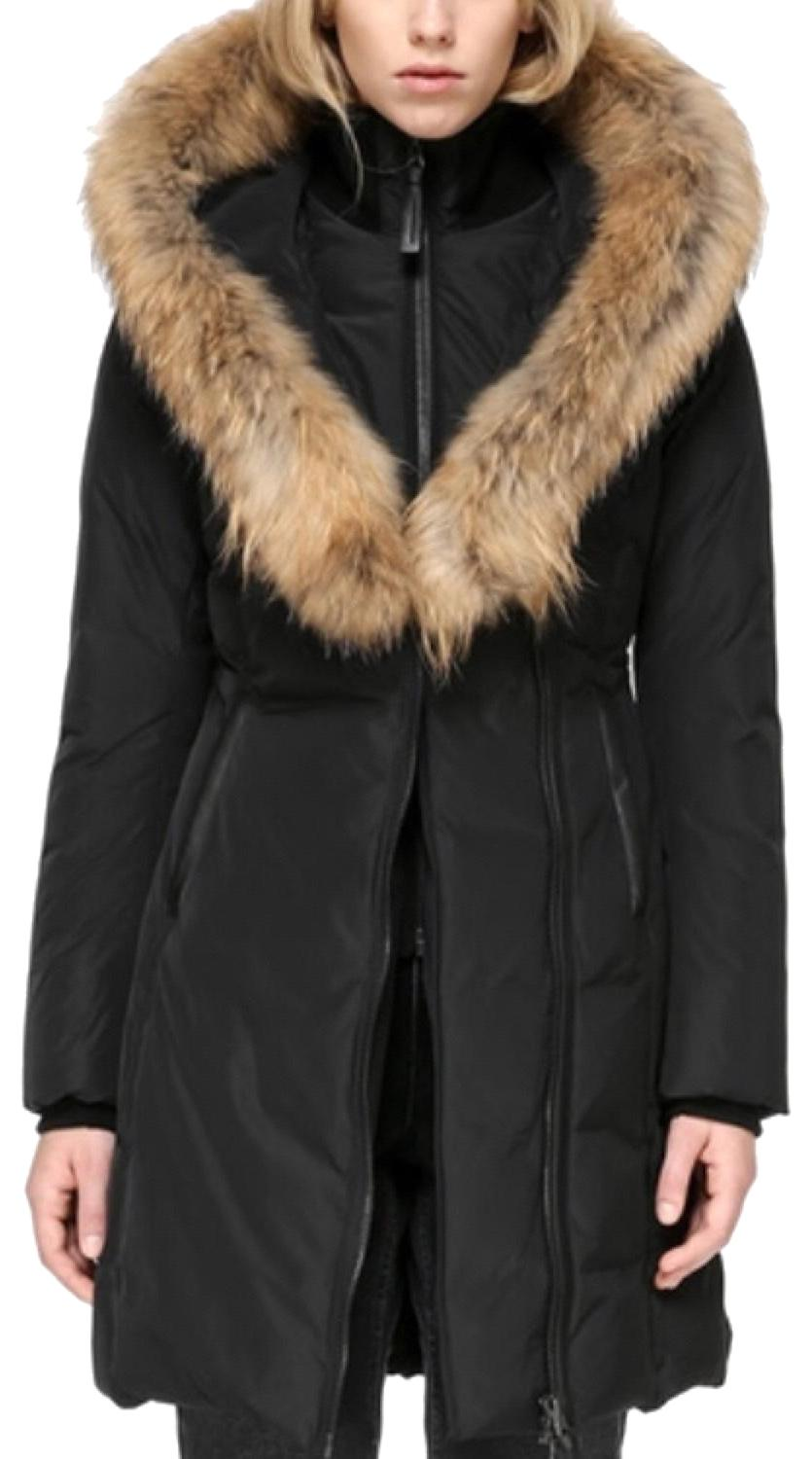 b86d4511e1dc ... best price mackage moncler canada goose coat 0099e 6462f clearance mackage  kay lavis fur trim womens puffer down coat ...