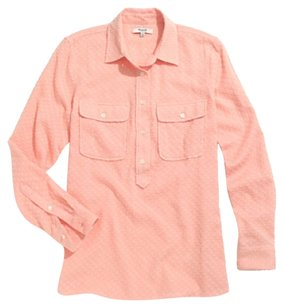 Madewell Button Down Shirt Peach
