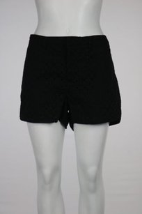 Madewell Womens Cut Out Shorts Black