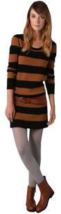 Madewell short dress Wool Bold Stripe on Tradesy
