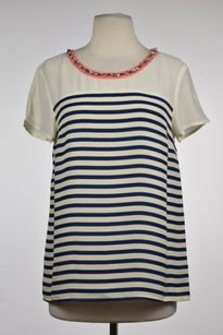 Madison Marcus Womens Top Navy