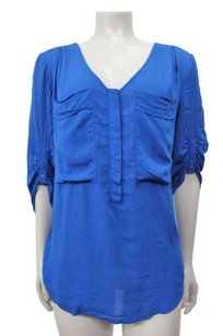 Maeve Anthropologie Top Royal Blue