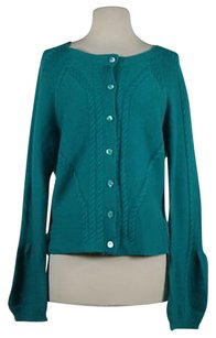 Magaschoni Womens Cardigan Cashmere Jacket Sweater