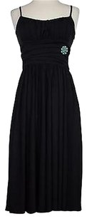 Maggy London Womens Solid Sleeveless Polyester Blend Above Knee Dress