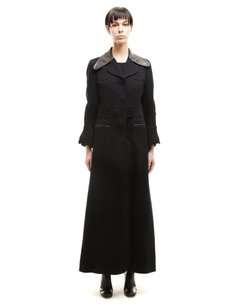 Maison Margiela Margiela Long Buttons Trench Coat