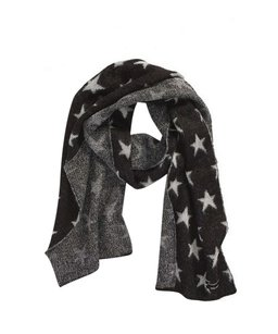 Maison Scotch Star Print Scarf