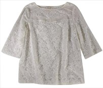Maje Floral Ivory Nm Top