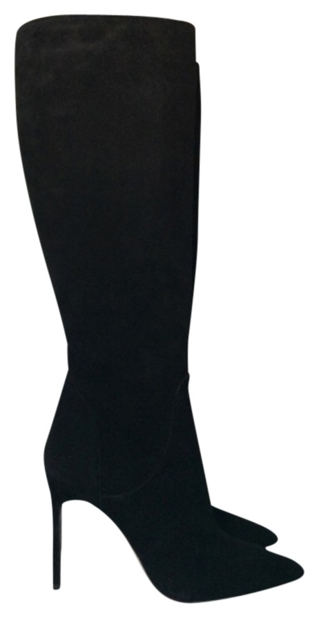 Manolo Blahnik Black Hanzuo Tall Boots/Booties Size US 11 Regular (M, B)