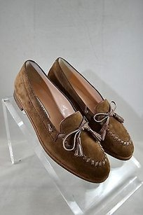 Manolo Blahnik Mock Brown Flats
