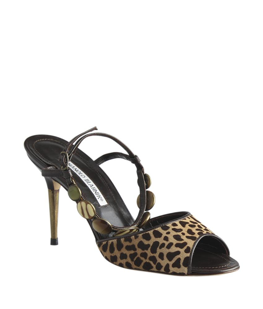 Manolo Blahnik Kulupuri Peep-Toe Sandals outlet sale F2z4Dc