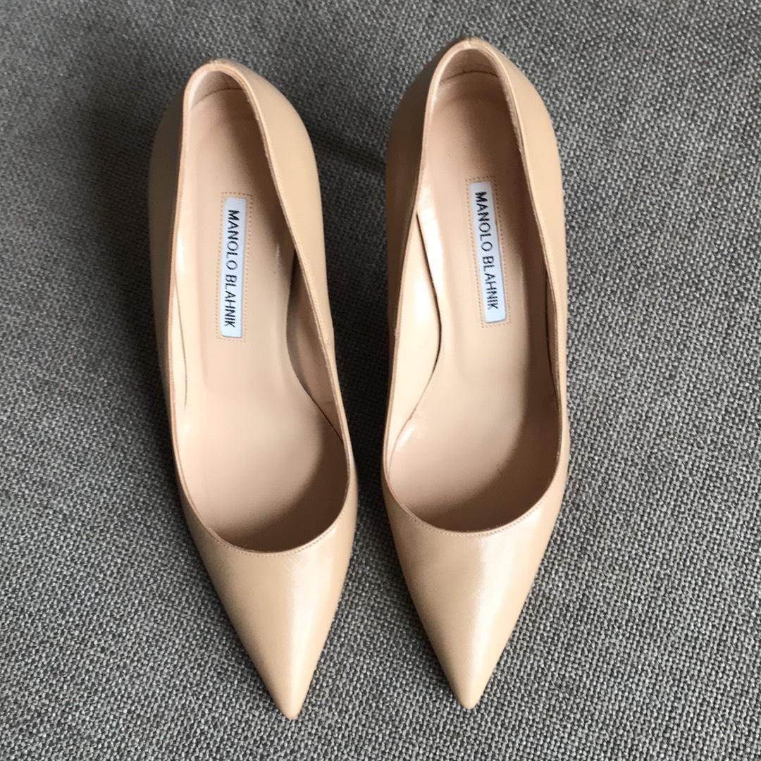 1cf544645786 Manolo Blahnik Nude B.b. Pumps Size EU EU EU 39 (Approx. US 9) Regular (M