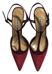 Manolo Blahnik purple/pink Platforms