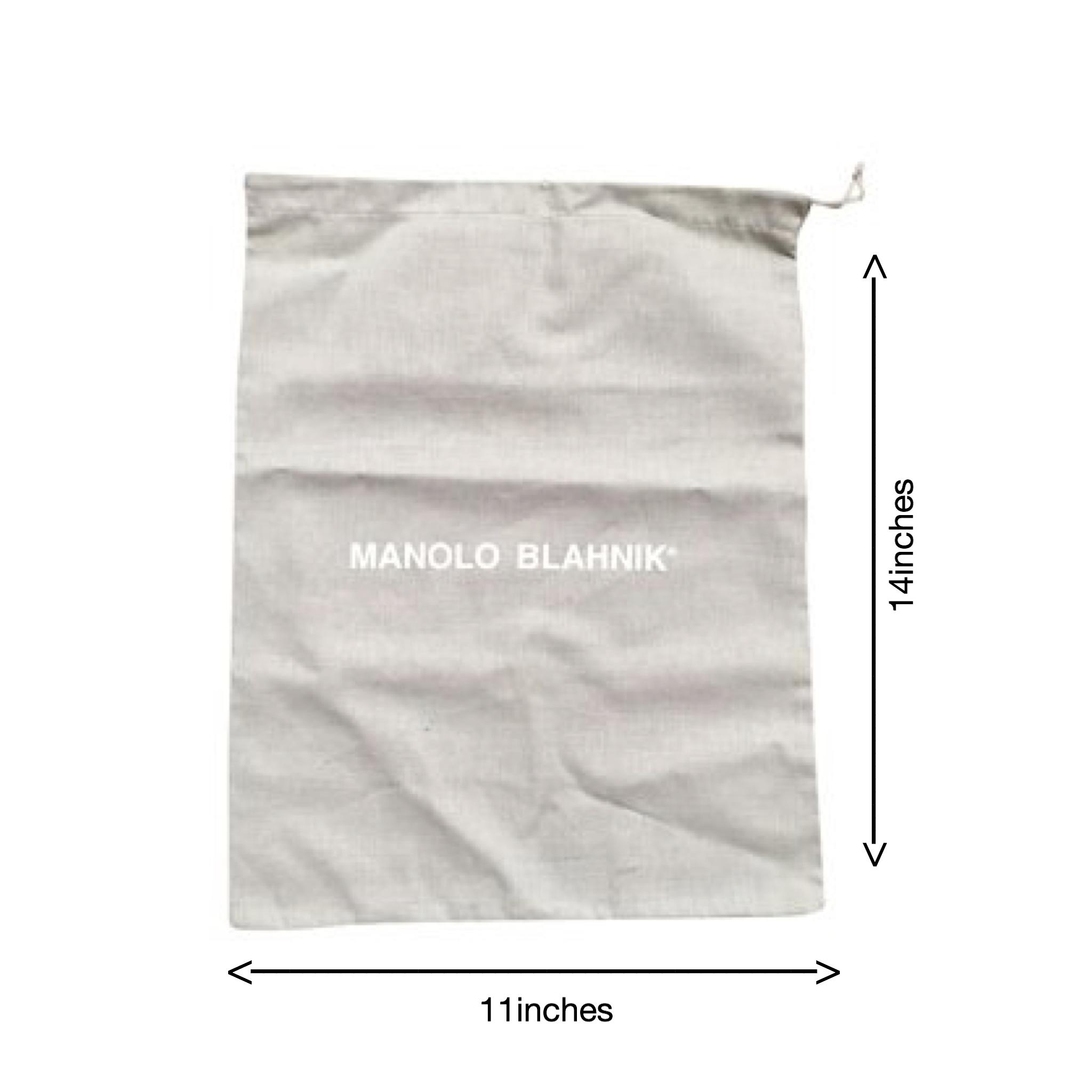 Manolo Blahnik shoe dust bag