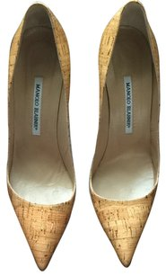 Manolo Blahnik Sughero natural Pumps