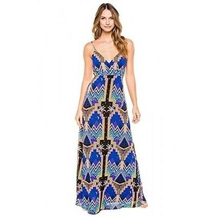 Multi-Color Maxi Dress by Mara Hoffman Crossover