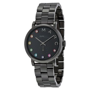 Marc by Marc Jacobs Black Dial Black Ion-plated Ladies MBM3422