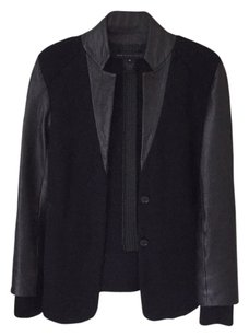 Marc by Marc Jacobs Black Multi Leather Jacket