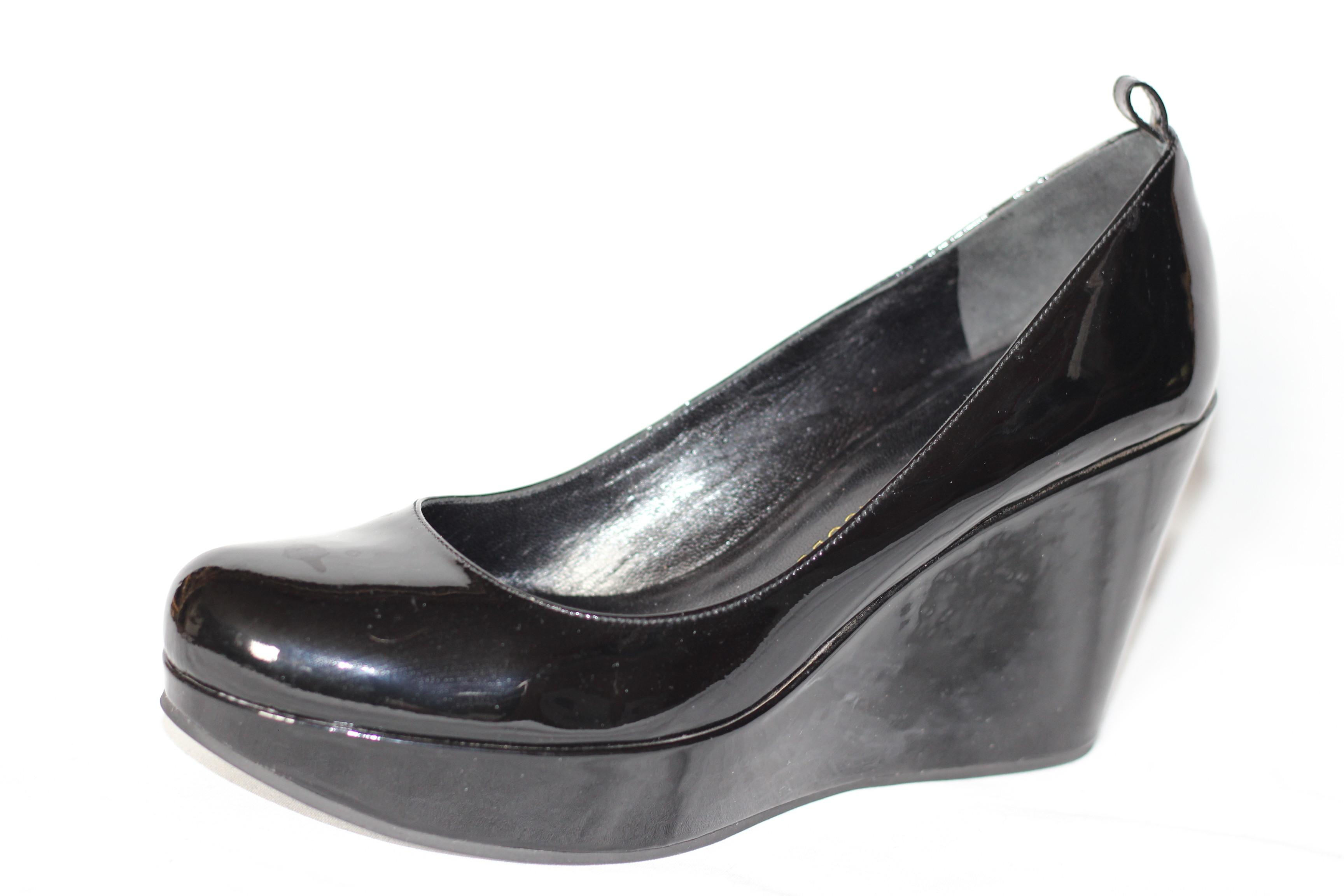 wiki free shipping pictures Marc by Marc Jacobs Patent Leather Wedge Pumps buy cheap free shipping free shipping buy Ah5aNT3U