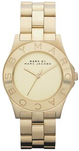 Marc by Marc Jacobs Blade Gold Tone Dial Bracelet Watch