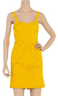 Marc by Marc Jacobs short dress Yellow Bright Corset Summer on Tradesy