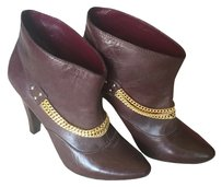 Marc by Marc Jacobs Burgundy Boots
