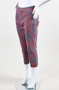 Marc by Marc Jacobs Gray Red Capri/Cropped Pants Multi-Color