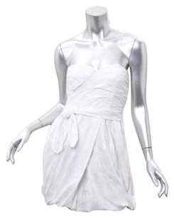 Marc by Marc Jacobs short dress White Womens Cotton Plaid Strapless Bubble Mini Sun 0 on Tradesy