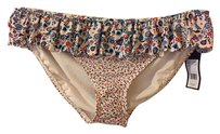 Marc by Marc Jacobs Folly floral scalloped ruffle bikini bottom