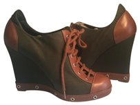 Marc by Marc Jacobs Green/Brown Boots