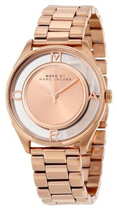 Marc by Marc Jacobs MARC BY MARC JACOBS Tether Rose Gold-Tone Stainless Steel Ladies Watch