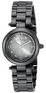 Marc by Marc Jacobs Marc Jacobs Women's Dotty Black Stainless Steel Watch - MJ3453